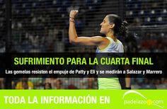 CRÓNICA: Las gemelas saben sufrir. Así fue la preciosa semifinal de Mapi S. Alayeto y Majo S. Alayeto contra Patty Llaguno y Eli Amatriain en WPT Málaga.