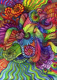 rainbow doodles - Google Search