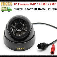 2.0 megapixel Dome IP camera 1080P Full HD Onvif IR night vision Camera 2MP Indoor IP Camera