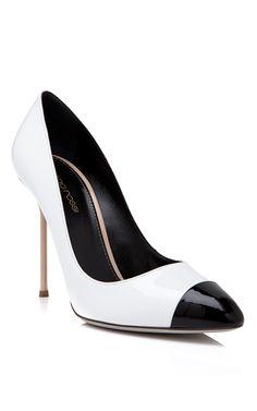 bf66dd041b0fd Sergio Rossi - Black Toe Pump - http   womenspin.com shoes