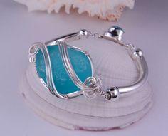 Tumultuous Tides ~ Custom Sea Glass Bracelet For Laura