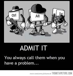 ctrl+alt+delete has saved everyone's life at least once.