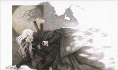 """ILLUSTRATOR: Yvonne Gilbert ~ """"Dracula"""""""