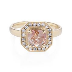 1405c89a0 Greenwich St. Jewelers   New York City Jeweler & Jewelry Store. Peach  Diamond RingRose Cut ...