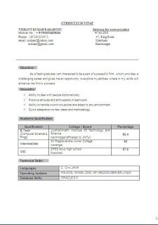 Best Creative Resumes Free Download Sample Template Excellent