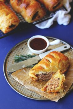 Sausage Rolls with Rosemary and Golden Onion {Street Food Monday} | The Sugar Hit