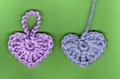modèle au crochet avec explication gratuite coeur | modele crochet facile pour debutant (9) , vu sur lesmainsdesabine ...