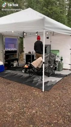 Camping Set Up, Camping Ideas, Camping Equipment, Glamping, Rv, Outdoor Decor, Style, Swag, Motorhome