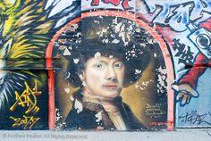 Rembrandt Street Mural II - http://andrewprokos.com