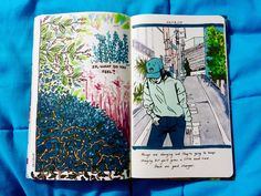 emilythesithlord: art journal p. 89 and 90 | JOURNAL INSPIRATION