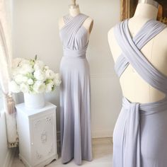 Nela  La robe versatile disponible en plusieurs couleurs!