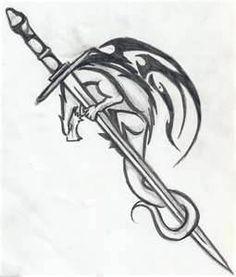 Dragon And Sword Tattoo By Beachbummoo On DeviantART