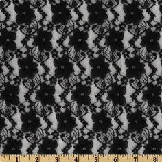 Black lace. Minks & Pearls $5.93 https://www.fabric.com/buy/ul-474/giselle-stretch-lace-floral-black?cm_vc=756b1813-cbc1-43b3-84bd-29889bf8fb7b