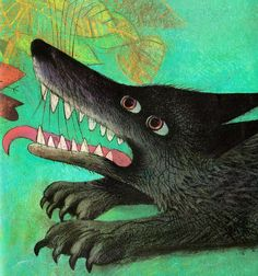 Image result for Peter & the wolf josef palecek