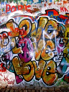 Praha, Czech Republic  (Lennon Wall)