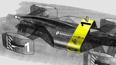 """p0ww:  """"Renault Vision RS27 Sketches by Stéphane JANIN via lecontainer  """""""