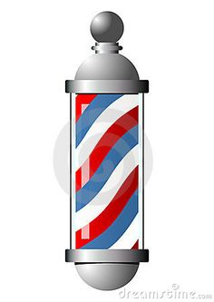 barber pole pattern use the printable outline for crafts creating rh pinterest com free barber shop pole clipart free barber shop pole clipart