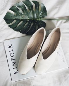 marks and spencer high cut ballerina/ glove shoe, flat slip on shoes to take you through a mild autumn fall Buy Shoes, Me Too Shoes, Stylo Shoes, Minimal Shoes, Christian Louboutin, Minimalist Bag, Shoes Photo, Baby Boots, Boots For Sale