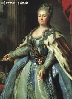 Empress Catherina II of Russia, Catherine the Great 1780s