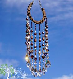 Cool horseshoe suncatcher