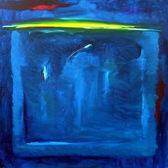 "Saatchi Art Artist Carl Yoshihara; Painting, ""Horizon #2, 2006. ORIGINAL DONATED / Breathe Yoga/Japanese Tsunami Relief Fund"" #art"