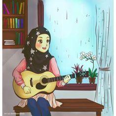 "an internet connection"" Hi this is ALIF Age : 22 Job : Journalist, graphic designer I'm using photoshop Tmblr Girl, Hijab Drawing, Islamic Cartoon, Anime Muslim, Hijab Cartoon, Beautiful Muslim Women, Islamic Girl, Religion, Hijabi Girl"