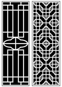 Dercor panel 62 – Download Free Vector Laser Machine, Cnc Machine, Home Window Grill Design, Stair Railing Kits, Art File, Autocad, Vector File, Free Design, Ms