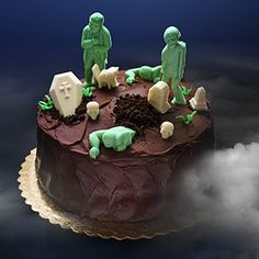 Delicious Dead Zombie Chocolate Mold | ThinkGeek