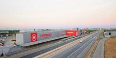 Fachada Sede Central. Reforma integral HIMOINSA Headquarters - Arquitania Business
