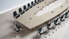 Meeting by BK CONTRACT | Conference table systems