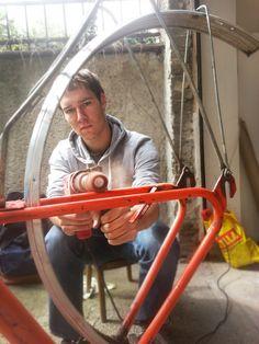 Bicycle Liberta, made in Czechoslovakia.