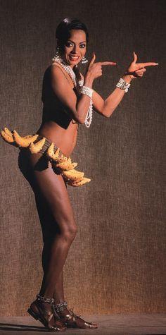 Diana Ross as her hero Josephine Baker.