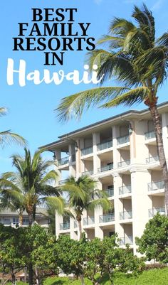 Here's a breakdown of eight of the best family resorts in Hawaii, from kids clubs, to deluxe accommodations and to elaborate pools. Hawaii Honeymoon, Hawaii Vacation, Hawaii Travel, Beach Trip, Vacation Trips, Vacation Spots, Vacation Rentals, Cruise Travel, Cruise Excursions