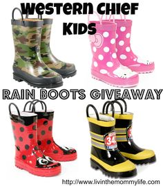 western chief boots giveaway ends 11/27