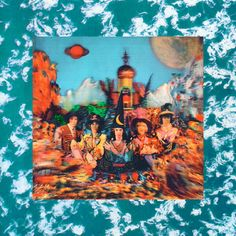 #psychedelic #trippy 1967-Rolling-Stones-Their-Satanic-rare-vintage-psychedelic-stereo-lp-vinyl-record-album-cover-art