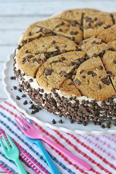 Chocolate Chip Cookie Ice Cream CakeReally nice recipes. Every  Mein Blog: Alles rund um die Themen Genuss & Geschmack  Kochen Backen Braten Vorspeisen Hauptgerichte und Desserts