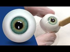 How to Make EASY REALISTIC Eyeballs Out of Polymer Clay - YouTube