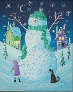 Joy+Love+and+Peace+Folk+Art+Print+by+KimsCottageArt+on+Etsy,+$12.95