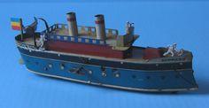 1924-1926 Greppert & Kelch Tin Express Yacht