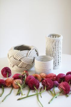 We're always looking for ways to gussy up simple, household items. And of the projects that we seem to tackle time to time again, it seems like vases seem to always be at the top of our list. Mainly because they are so accessible and such a great canvas for sparkle or gold or in […]