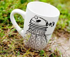 The+Original+Dalek+Doctor+Who+MMMug+Mug+/+Tea+Cup+Dr.+by+betwixxt,+$14.00 ITS JUST SO CUTE!! AAAAHHHH!!!!!!
