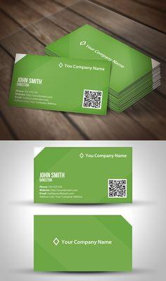 Dch v in th nha m qr code chuyn nghiptpthegioithenhua modern elegant qr code business card template reheart Choice Image