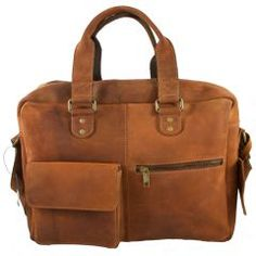 ac61ba673b5 Prachtig geschuurd leren laptoptas voor zowel dames als heren! Ook erg  handig als schooltas!