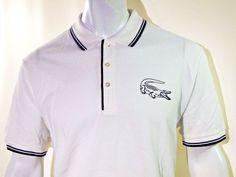 Lacoste fine men's pique polo size 2xl EU 7 NEW on SALE #Lacoste #Polo
