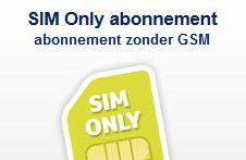 Echt besparen doe je met SIM-only! Kijk op de website en vergelijk alle abonnementen!