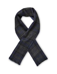 We have created one hundred scarves out of our unique Tartan. Tiger of Sweden. Tiger Of Sweden, Wool Scarf, Tartan, Scarves, Unique, Jackets, Clothes, Fashion, Fleece Scarf