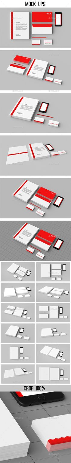 Stationery Mock-ups / Corporate ID