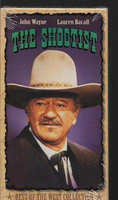 The Shootist John Wayne Western VHS  NEW