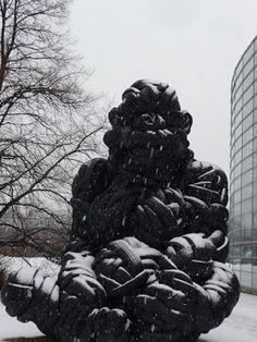 Eilisen Helsinki valokuvissani: Viikissä istui viisimetrinen gorilla. Kaikki oli mahdollista Helsinki, 1980s, Photography, Art, Art Background, Photograph, Fotografie, Kunst, Photoshoot