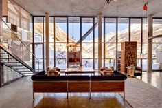 Heinz Julen Loft, Switzerland #wohndesign #luxushaus